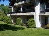 Außenansicht unserer Ferienwohnung mit Terrasse