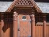 Tür der Stabkirche in Hahnenklee