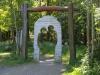 Eingang zum Liebesbankweg